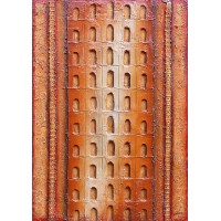 Elevation ochre, doors and ladders (SOLD)