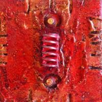Nacimiento industrial doble rojo