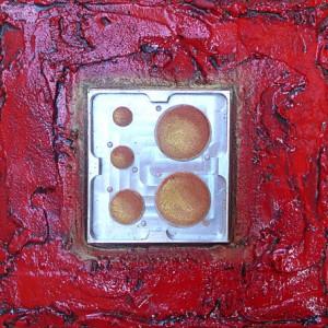 Post industriel rouge