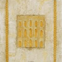 Légèreté (portes taupes, échelles or)
