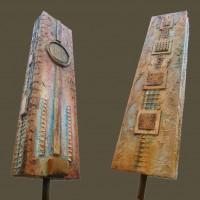Monolithe ocre