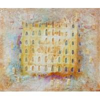Architecture - Portes de la Sérénité - sable, acier, pigment Roussillon