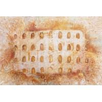 Portes Sérénité - Architecture toscane - sable acier pigment - Roussillon - Provence