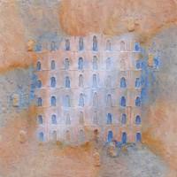 Portes de la Sérénité - sable acier pigment - Galerie Roussillon Provence Luberon