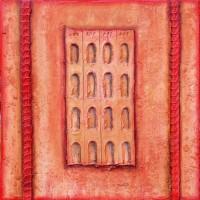 Intra muros - Sand steel pigment - Roussillon Provence Luberon